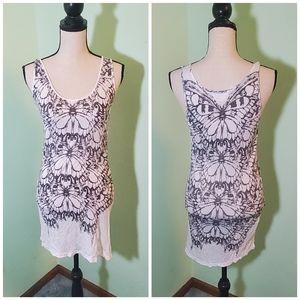 Torn by Ronny Kobo Casual Print Tee / Tunic Dress
